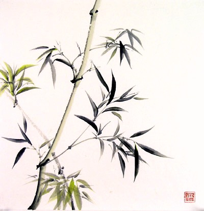 Toinette lippe painting - Bamboo